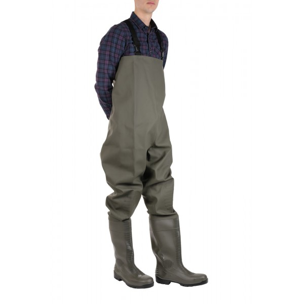 Amblers AS1002CW Safety Chest Wader Tyne Steel Toe Caps & Midsole
