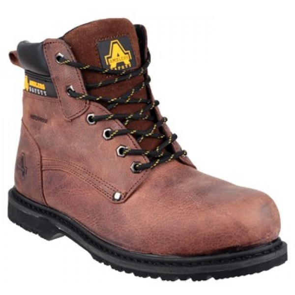 Amblers FS145 Waterproof Safety Boots With Steel Toe Caps & Midsole