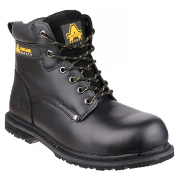 Amblers FS146 Waterproof Safety Boots With Steel Toe Caps & Midsole