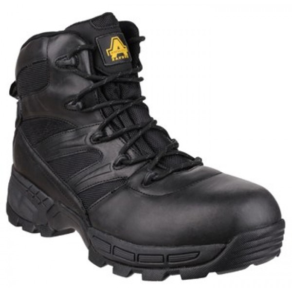 Amblers FS410 Piranha Waterproof Safety Boots With Composite Toe Caps & Midsole