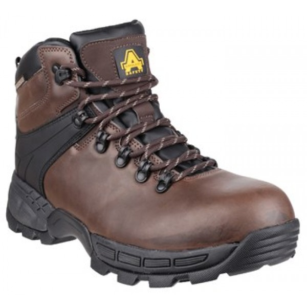 Amblers FS420 Caimen Waterproof Safety Boots With Composite Toe Caps & Midsole