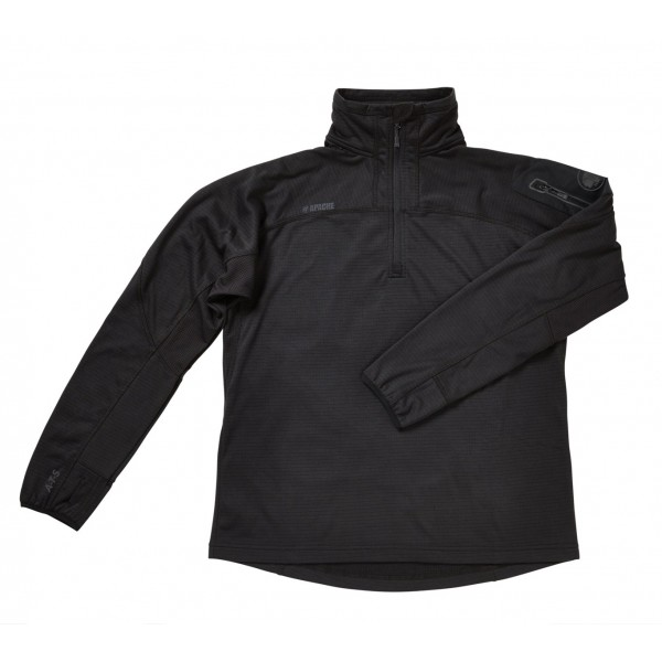 Apache ATS Black Performance Fabric Breathable Tech Fleece