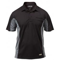 Apache APDMP Dry Breathable Black Grey Max Polo Shirt