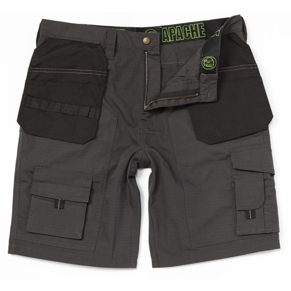 Apache Grey Black Rip Stop Cordura Holster Short