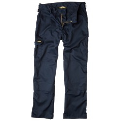 Apache Workwear Mens Navy Cargo Trousers Kneepad Tool Phone Pocket Pant