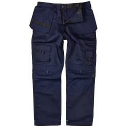 Apache Mens Navy Holster Cordura Knee Pad Tool Phone Pocket Workwear Trouser