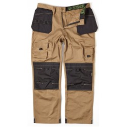 Apache Mens Stone Holster Cordura Knee Pad Tool Phone Pocket Workwear Trouser