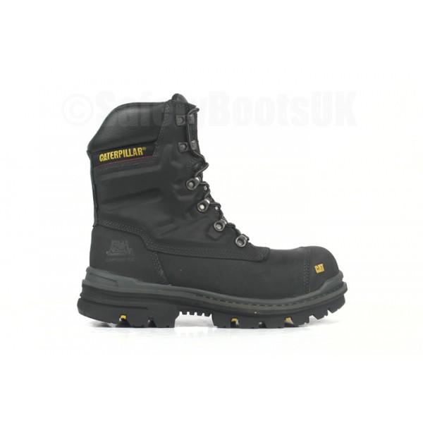 CAT Premier Black Safety Boot