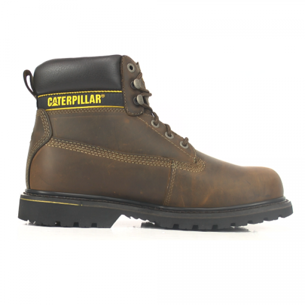 CAT Holton Brown Safety Boots S3
