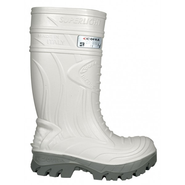 Cofra Thermic White Metatarsal Safety Wellingtons