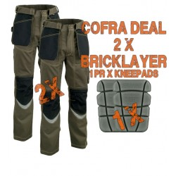 Cofra Bricklayer Trousers Kit 1 Cofra Workwear