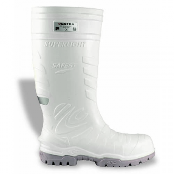 Cofra Safest White Cold Protection Safety Wellingtons