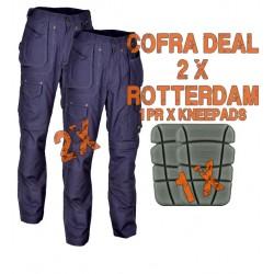 Cofra Rotterdam Canvas Trousers Kit 1 Cofra Workwear