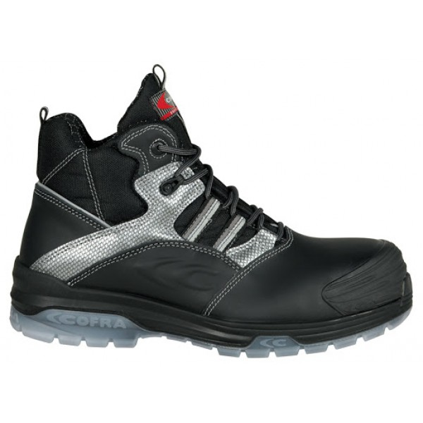Cofra Modigliani Black Metal Free Safety Boots