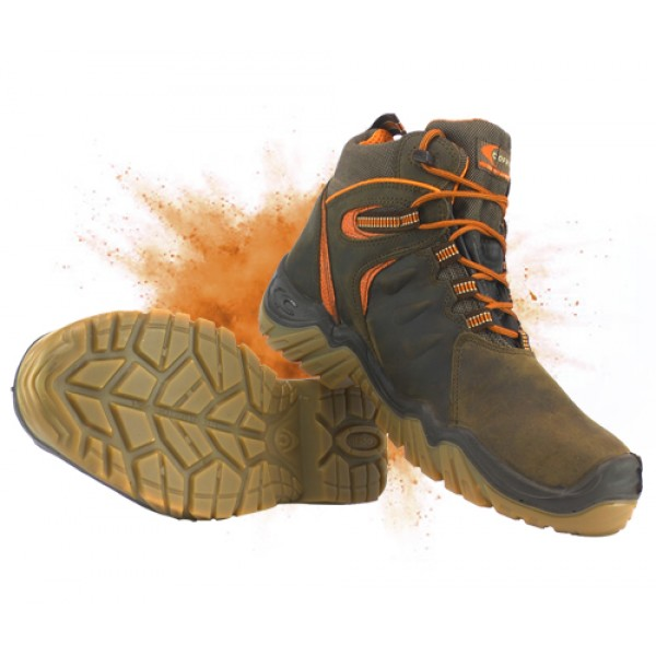 Cofra Montserrat GORE-TEX Safety Boots Composite Toe Caps & Midsole Metal Free, Non Metallic Waterproof Safety Boots