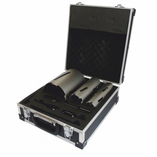 Stock Clearance Dart Red Ten 3 Piece Professional Diamond Core Kit 117mm 52mm 38mm