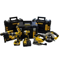 Dewalt DW6KITP3T 18v 6 Piece Kit With 3x5ah Batteries and 3 Tstak Cases