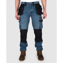 Dunderdon P12 Carpenter Stonewash Denim Trousers