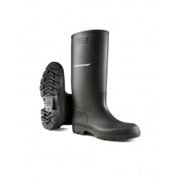 Dunlop Pricemaster Black Safety Wellingtons