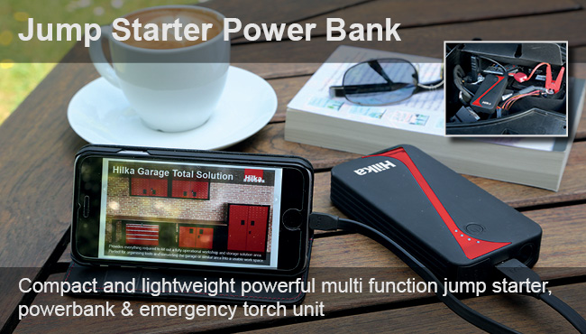 Hilka 400 Amp Jump Starter Power Bank