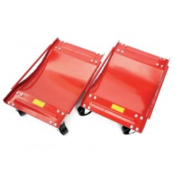 Hilka 82350020 400kg Wheel Dolly Set
