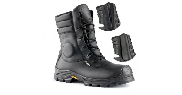 2c7fc8025f529e Jallatte Jalarcher Safety Boots with Composite Toe Caps & Midsole Side Zip  Metal Free Non Metallic