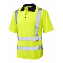 Leo Hi Viz Polo Shirt