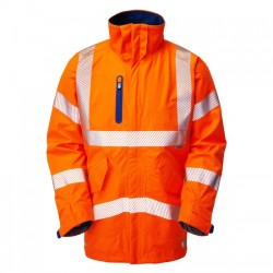 Leo Workwear Marisco High Performance Waterproof Anorak Orange