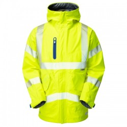 Leo Workwear Marisco High Performance Waterproof Anorak Yellow