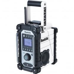 Makita DMR102W 7.2v 18v White Jobsite Radio