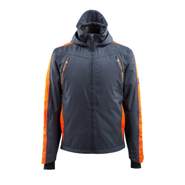 Mascot Hardwear 15001 Hi-Vis Waterproof Outer Shell Jacket