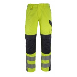 Mascot Multisafe Arbon 13879 Hi Vis Trousers With Kneepad Pockets