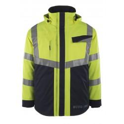 Mascot Multisafe Emmen 13830 Waterproof Multi Protective Class 2 Hi Vis Winter Jacket