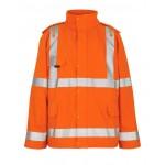 Mascot Safe Aqua Feldbach 50101 Hi Vis Waterproof Class 3 Rain Jacket