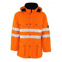Mascot Safe Arctic Quebec 00510 Hi Vis Water Repellent Class 3 Parka Jacket