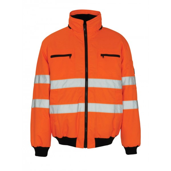 Mascot Safe Arctic St Moritz 00534 Waterproof Class 3 Hi Vis Pilot Jacket
