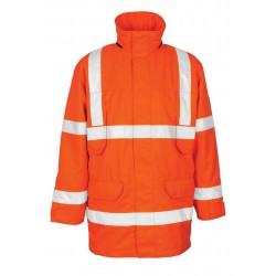 Mascot Safe Arctic Vancouver 07930 Hi Vis Waterproof Class 3 Parka Jacket