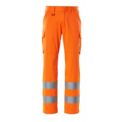 Mascot Safe Light 18879 Hi Vis Class 2 Trousers With Thigh Pockets