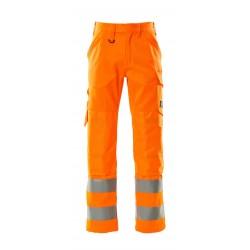 Mascot Safe Light Geraldton 16879 Hi Vis Trousers With Kneepad Pockets
