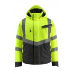Mascot Safe Supreme Hastings 15535 Waterproof Hi Vis Class 3 Winter Jacket