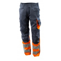 Mascot Safe Supreme Leeds 15679 Trousers With Kneepad Pockets