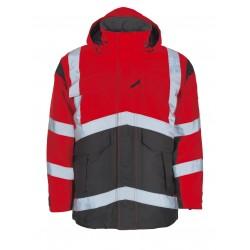 Mascot Young Afife 09030 Waterproof Hi Vis Class 2 Parka Jacket