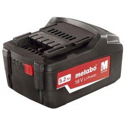 Metabo 321000350 18v 5.2ah Li-ion Battery