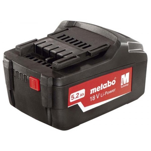 Metabo 321000350 18v 5.2ah Li-ion Battery