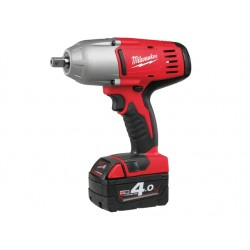 Milwaukee HD18 HIWF-402 Friction Ring 1/2in Impact Wrench 18 Volt 2 x 4.0Ah Li-Ion