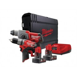 Milwaukee M12 CPP2B-602X Fuel™ Promo Kit 12 Volt 2 x 6.0Ah