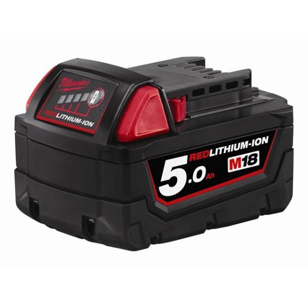 Milwaukee M18 B5 REDLITHIUM-ION™ Slide Battery Packs 18 Volt
