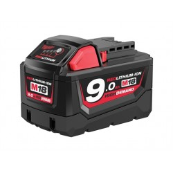 Milwaukee M18 B9 REDLITHIUM-ION™ Slide Battery Pack 18 Volt 9.0Ah Li-Ion