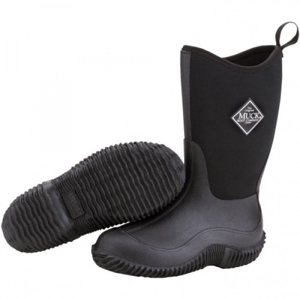 Muck Boots Kids Hale Black Wellingtons
