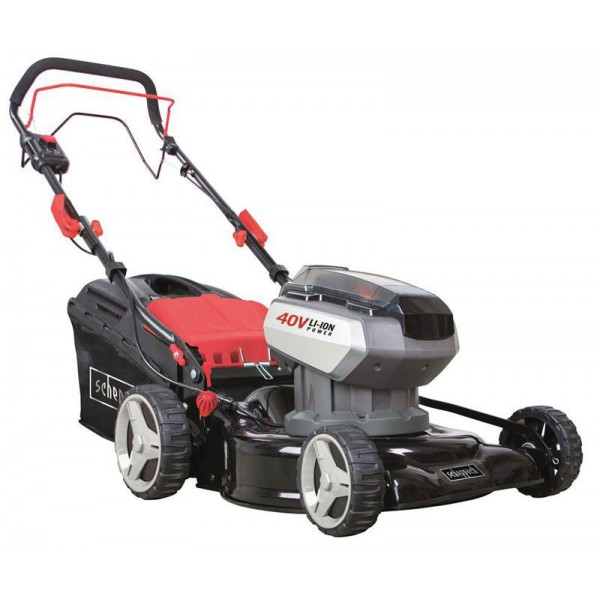Scheppach MS40-42Li 17in Self Propelled Accu 4in1 Lawn Mower 40V Li-Ion
